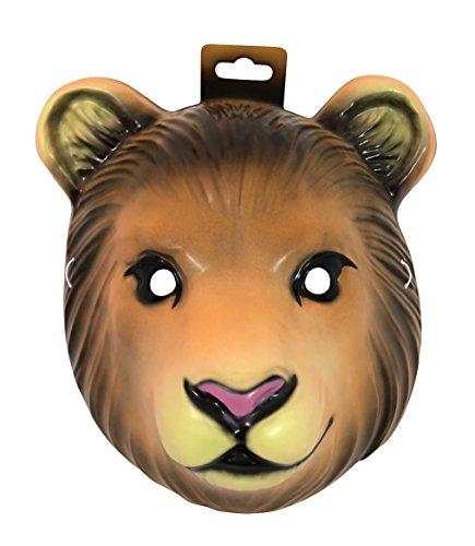 Forum Novelties Child's Plastic Animal Mask, Lion (Lion Mask)