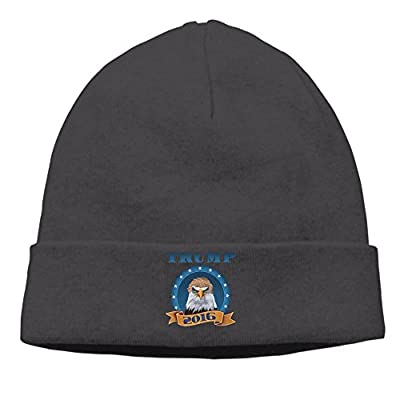 Election 2016 Donald Trump Bald Eagle Warm Classic Black Kint Slouchy Hat Beanies Cap