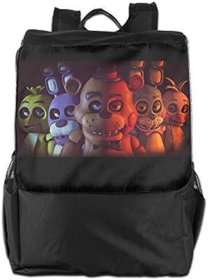 Cinco noches en Freddys pizzería libro bolsas mochila para Unisex: Amazon.es: Deportes y aire libre