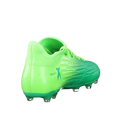 Bota de fútbol adidas jr X 16.1 FG Solar green-Core black Solar green-Core black