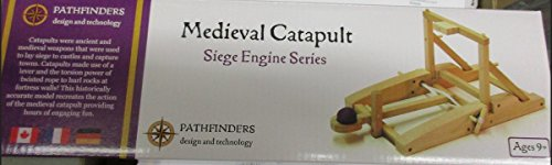 Pathfinders Medieval Catapult Wooden Kit -