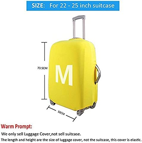 Horeset Travel Luggage Cover Cute Cartoon Animal Pattern Fits 18-30 Inch Travel Washable Suitcase Protector 4