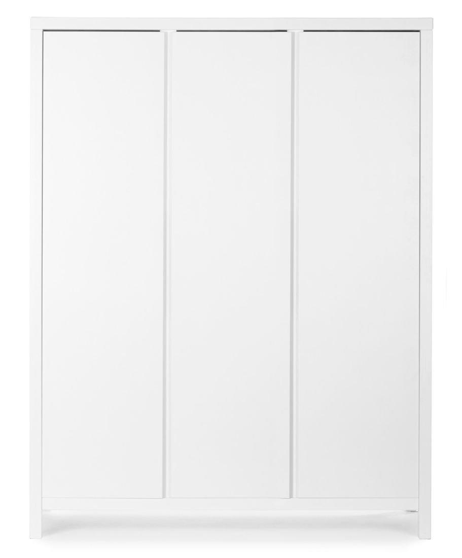 Childwood Kinder Kleiderschrank Spring White - 3 Türen-MDF