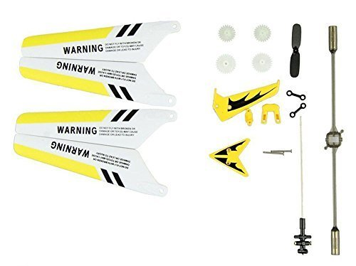 EastVita S107 Full Replacement Parts Set for Syma S107 RC Helicopter (Set of - Helicopter Tail