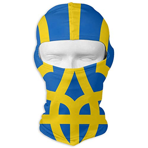 Coat of Arms of Ukraine Thin Outdoor Sports Cycling Ski Balaclava Neck Hood Full Face Mask Hat