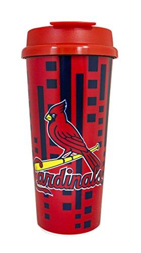 St. Louis Cardinals 16oz Travel (Louis Cardinals Mlb Tumbler)