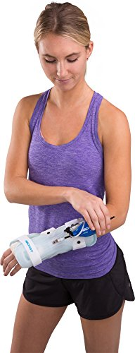 Aircast StabilAir Wrist Support Casting Brace, Left Hand, Medium by Aircast (Image #5)
