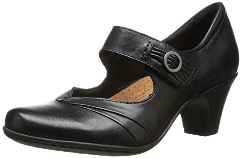 (Rockport Cobb Hill Women's Salma-Ch Dress Pump, Black, 8.5 W US)