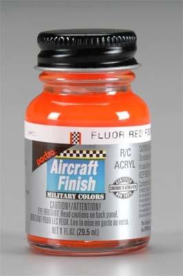 UPC 075611592206, RC5922 R/C Plane Acryl Fluor Red FS28915 1 oz