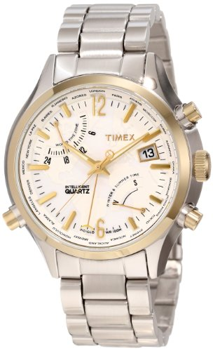 Timex Men's T2N945DH Intelligent Quartz World Time Watch