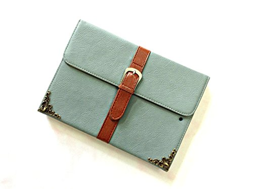 Envelope ipad leather case, handmade ipad cover for iPad Mini 1 2 3 4 iPad Air 2 iPad Pro 9.7 inch 12.9 inch MN0434