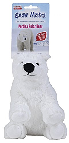 Perdita Polar Bear Squeaking Dog Toy (size: Large) For Sale