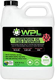 WPL High Performance Bicycle Suspension Oil 1L - Premium Bike Oil for Shocks and Forks - Provides Extreme Lubr