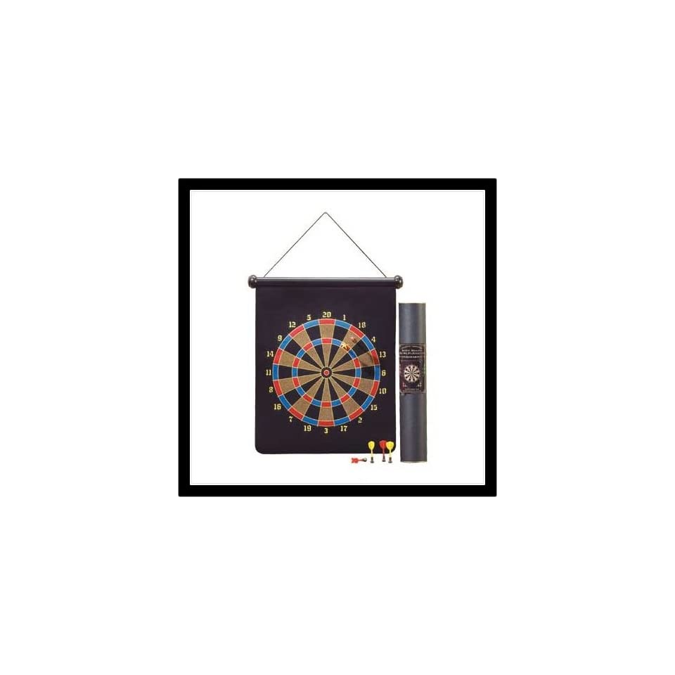 Hours of Fun Magnetic Dartboard New