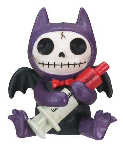 Flappy Vampire Bat Furry Bones Statue Display -