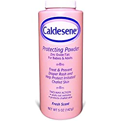 Caldesene Medicated Protecting Powder with Zinc Oxide & Cornstarch, 5 oz