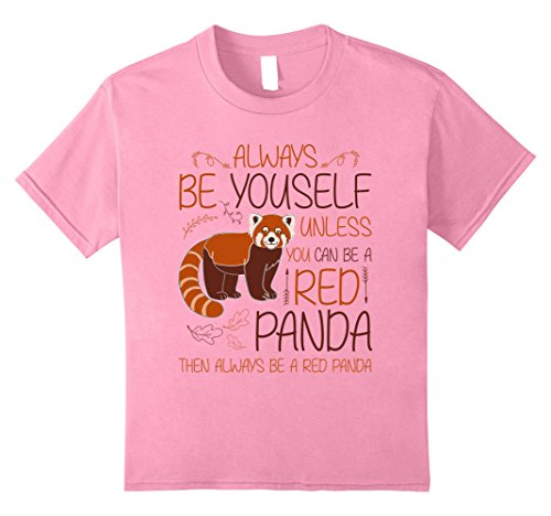 Always Be Yourself T-Shirt Cute Red Panda Tee