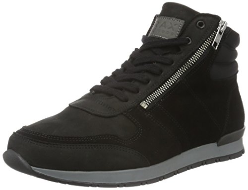 Brax Herren Jonio Sneaker 2 High-Top Schwarz (Nero)