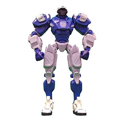 "Detroit Lions 10"" Team Cleatus FOX Robot NFL Football Action Figure Version 2.0"