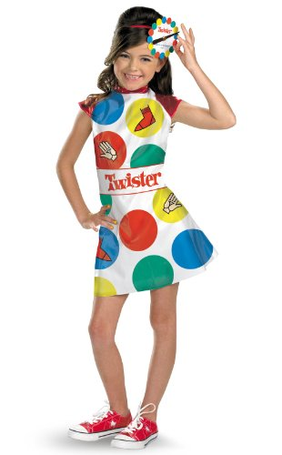 Disguise Hasbro Games Twister Girls Costume, 10-12