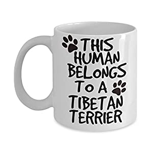 Tibetan Terrier Mug - White 11oz Ceramic Tea Coffee Cup - Perfect For Travel And Gifts 37