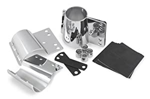 National Cycle KIT-CHN Heavy Duty Windshield Mount Kit for Harley Davidson Wide by National Cycle by National Cycle