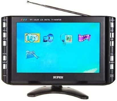 Monitor TV lcd 9 pulgadas tv dvb-t usb vga colores pantalla TFT mws: Amazon.es: Electrónica