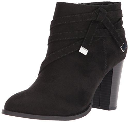 Renly Alexander Black Women's Suede Athena Bootie Ankle Ax7wzE4xHq