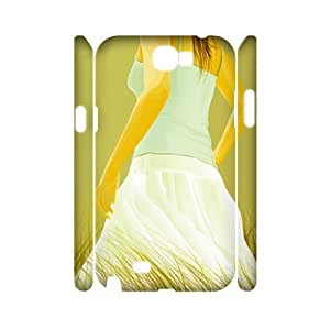 3D Youthful vitality wallpaper Samsung Galaxy Note 2 Case White