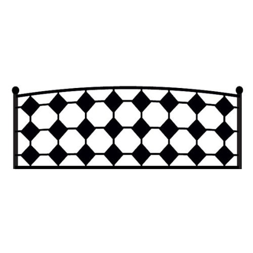 Headboard Vinyl Wall Decal Full Twin Queen Size Wall Decals Quilted Diamond Square Elegant Sticker Home Wall Stcker Bedroom Romovable 925