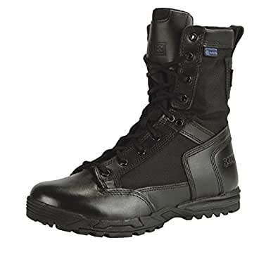 5.11 Men's Skyweight Waterproof Side Zip Military and Tactical Boot, Black, 12 M US