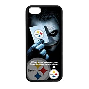 "Caitin NFL Pittsburgh Steelers With Joker Poker Cases Cover Hard Shell for Iphone 6 Plus(5.5"")"