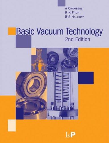 Basic Vacuum Technology, 2nd edition