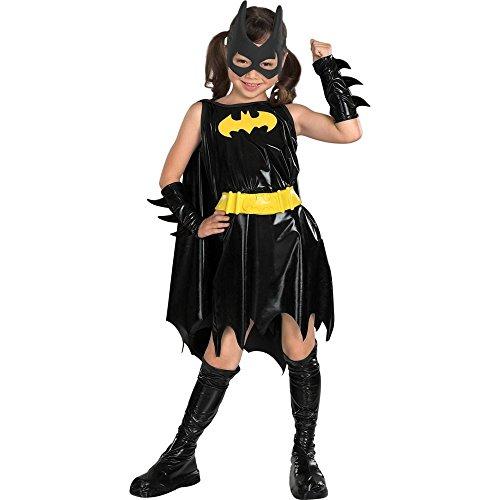 DC Super Heroes Child's Batgirl Costume, Medium (Boys Bat Costume)