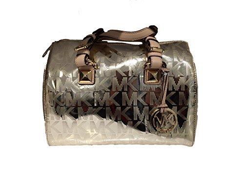 Michael Kors Metallic Handbag - 5