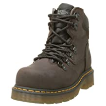 "Dr. Martens Men's 8836 Heritage Industrial Strength 6"" Steel Cap Boot"