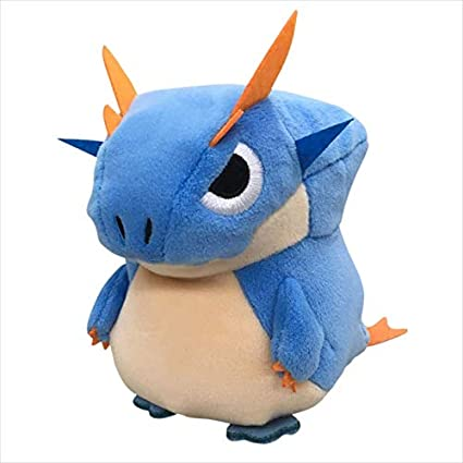 Capcom Monster Hunter Lagiacrus MochiKawa Plush Doll Peluche