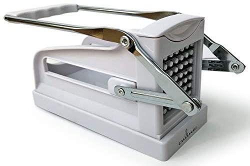 Culina French Fry Potato Cutter for Easy Slicing, 2 Blades