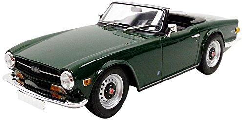 Minichamps 1/18 Scale diecast - 155 132030 Triumph TR6 Roadster 1969 Dark Green
