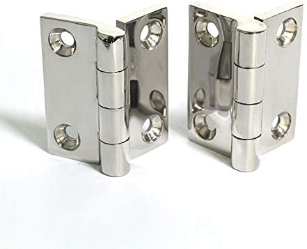 316 Stainless Steel Heavy Hinge Thickening Industrial Hinge to Heavy Industry 50504mm Door /& Window Accessories Ship Hardware Color: as Picture