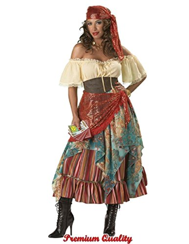 Modern Fortune Teller Costumes - InCharacter Costumes Women's Fortune Teller Costume
