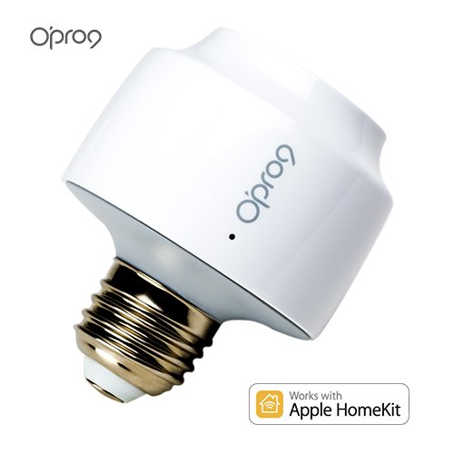 Opro9 iU9 Smart Lightbulb Socket - WiFi Light Bulb Adapter- Works with Apple HomeKit and Apple Siri Voice Control by O'PRO9 (Image #6)