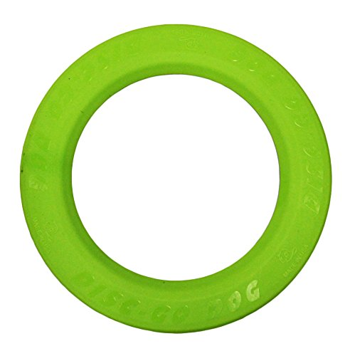 Jersey Dog Company, 803G The Perfect DISC-GO-DOG, 8.75″ Wide x .25″ Thick, Safety Green