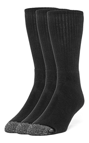 Galiva Women's Cotton ExtraSoft Crew Cushion Socks - 3 Pairs