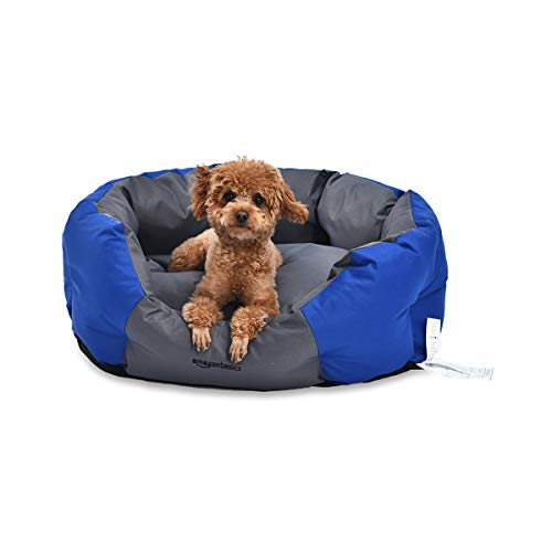 AmazonBasics Water-Resistant Pet Bed for Small Dogs