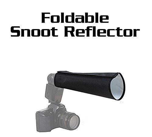 Foldable Universal snoot reflector flash diffuser softbox for Canon Nikonの商品画像