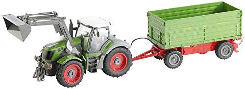 Playtastic Funk-ferngesteuerter Traktor mit steuerbarem Anhänger