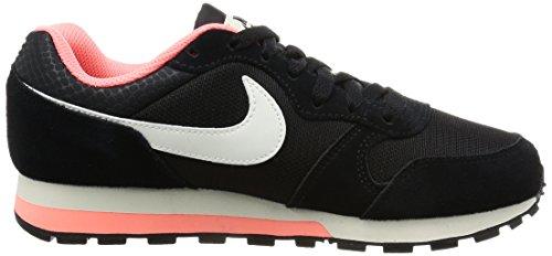 Nike Wmns Md Runner 2, Zapatillas de Deporte para Mujer Negro (4)
