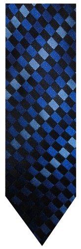 Men's Sean John Necktie Neck Tie Blue and Black