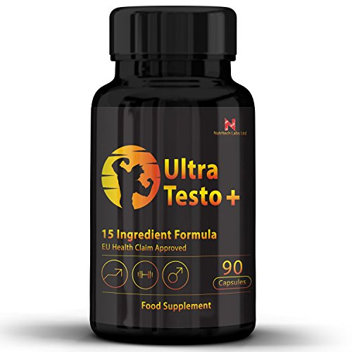 Nutritech Labs - Testosterone Boosters For Men - Boost T-Levels, Increase...